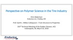 07 cg robertson perspective on polymer science in the tire industry may 8 2018