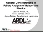 Poulton failure analysis 2019 spring rubber division